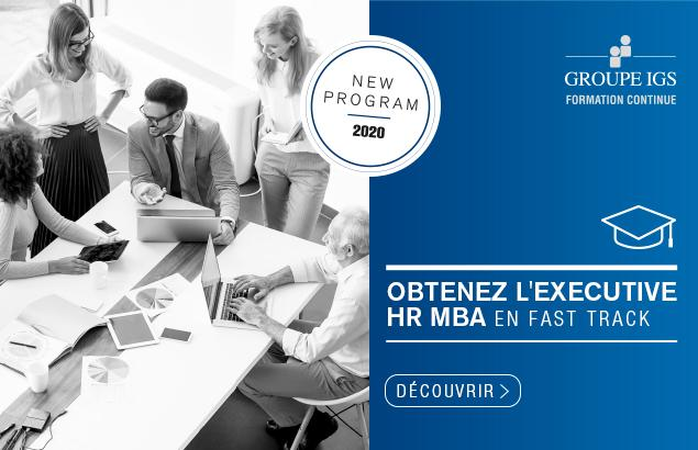 "L'Executive HR MBA disponible en ""fast track"""